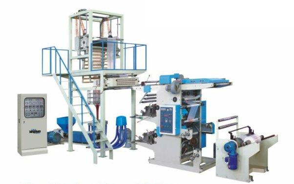 吹膜凸版印刷连体生产线