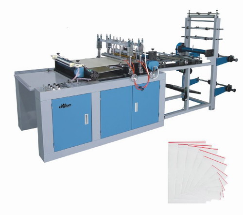 Пакетоделательная машина для производства пакетов с замком zip-lock, зип-лок пакетов, зиплок
