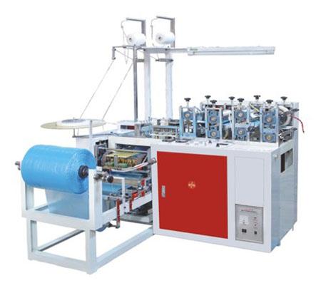 Машина для изготовления бахил из полиэтиленовой пленки (ПЭ)