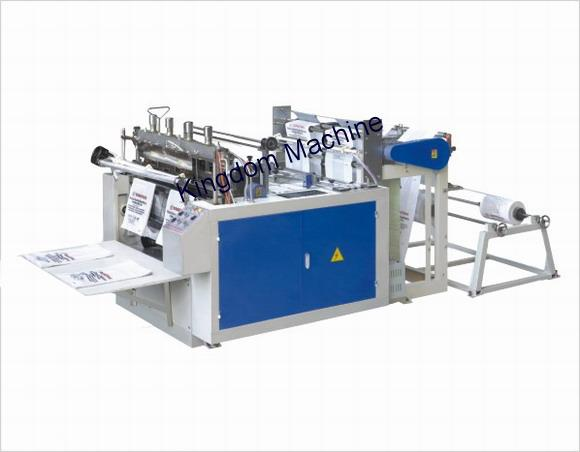 Heat cutting plastic Shopping bag machine