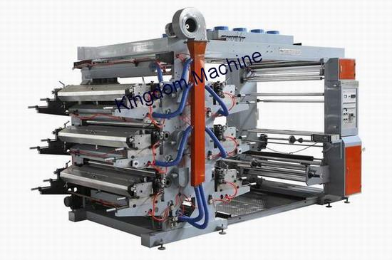 Six Colors Flexo Printing Machine