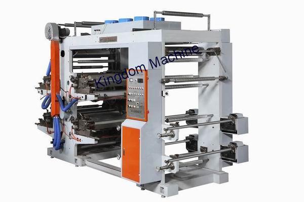 Four Colors Flexographic Printing Machine