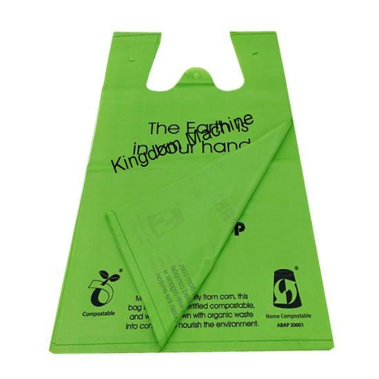 Biodegradable T-shirt bag